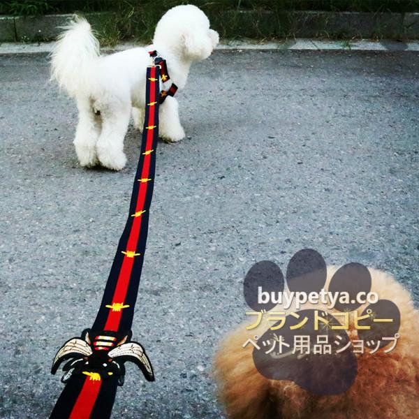 グッチ 犬用胴輪