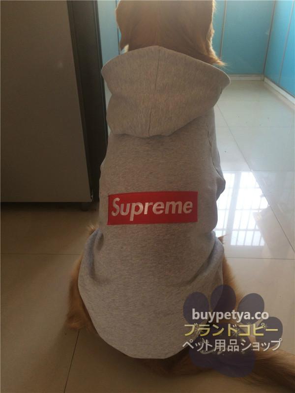 シュプリーム 犬の服