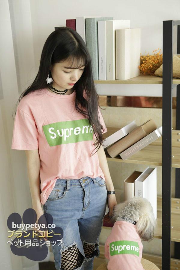 supreme tシャツ レディース